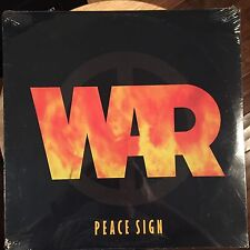 "WAR - PEACE SIGN 12"" Vinyl Record 1994 Avenue Records SEALED Soul"