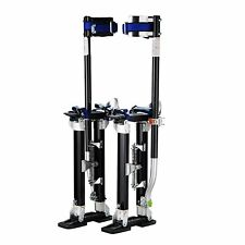 "Pentagon Tools 18"" - 30"" Black Drywall Stilts"