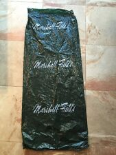 MARSHALL FIELD'S GREEN PLASTIC GARMENT BAG W/ NAME  Authentic  Vintage