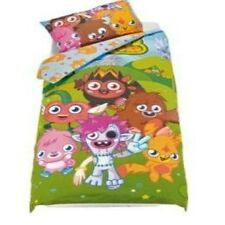Official Moshi Monsters Single Panel Duvet Cover Bed Set