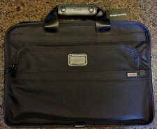 Tumi Nylon LAPTOP Computer Insert BRIEF CASE Bag with Shoulder Strap 0101DH $225