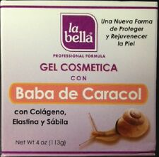 La Bella Cosmetic gel with Snail Extract / Baba de Caracol 4 oz.