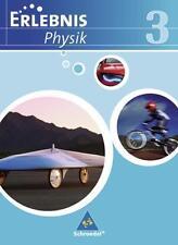 Erlebnis Physik  für Realschulen in Niedersachsen 9783507772731 Neu