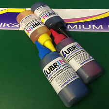 4x100ml Lubrink Dye Refill Printer Ink for HP Officejet 3830 3831 4650 Printer