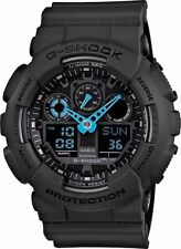 DEAL OF THE DAY NEW CASIO  GA100C-8A NEON BLUE HAND ANA-DIGI MENS WATCH