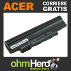 Batteria POTENZIATA 5200mAh per Acer Aspire One D255, D257, D260, D270, happy,