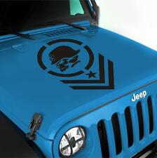 Jeep Wrangler Metal Mulisha Vinyl Hood Decal Sticker LJ TJ JK JKU Offroad Willys