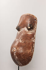 Makonde Fertility Mask, Mozambique, African Tribal Art