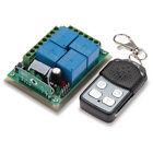 Telecomando Controllo Remoto Wireless 50MT 4CH + Modulo Ricevitore DC12V per DIY