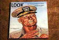 LOOK MAGAZINE 1944  OCT 17  FINE+ FILE COPY Admiral Chester W. Nimitz WWII