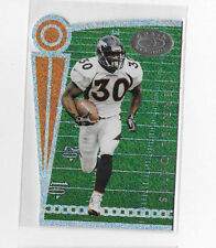 1999 DONRUSS TERRELL DAVIS CHAIN REACTION DIE-CUT #1024/5000 - DENVER BRONCOS