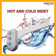 PREMIUM QUALITY HOT AND COLD BIDET HYGIENE WASH TOILETRY HOME SPRAYER WATER NEW