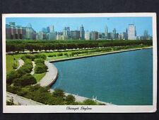RP Vintage Postcard - USA - #20 - Chicago Skyline - Posted 1960s