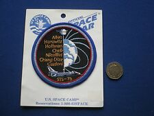 NASA Space Shuttle Mission STS-75 Columbia - Embroidered  Patch
