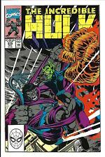 INCREDIBLE HULK # 375 (PETER DAVID, NOV 1990), VF/NM