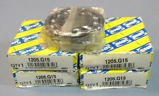 Lot 5 SNR 1205.G15 Double Row Self Aligning Ball Bearing 25 x 52 x 15mm NIB