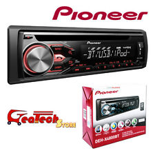 Pioneer Autoradio Bluetooth 4 x 50w DEH-4800BT Ingresso AUX USB iOS Siri Android