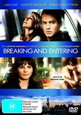 BREAKING AND ENTERING Jude Law DVD R4 -Juliette Binoche