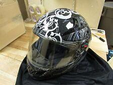 JOE ROCKET  MOTORCYCLE FULLFACE HELMET - RKT1300 - ADULT LARGE - BLACK GRAPHIC