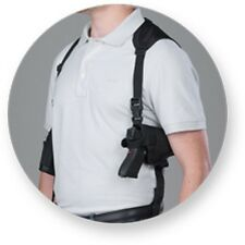 Horizontal Shoulder hand Gun Holster For Glock 17,19,20,21,22 W/Tactical Light