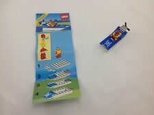 Vintage LEGO legoland Town system Wave Racer 6508 Mint Condition W Instructions