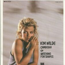 Kim Wilde - Cambodia / Watching For Shapes (Vinyl-Single 1981) !!!