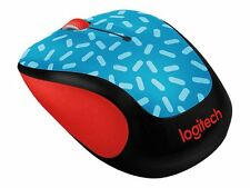 Logitech M325c Precision Wireless Mouse Memphis Blue New 097855120854 910-004744