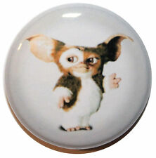 """1"""" (25mm) Gremlins """"Gizmo"""" Button Badge Pin - High Quality -MADE IN UK"""