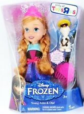 """Disney Frozen Toys R US 6"""" Exclusive Jakks Pacific Young Anna & Summer Olaf"""