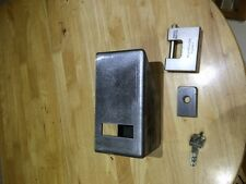 shipping container lock box  kit parts only new 5.00 mm steel &15.00 staple