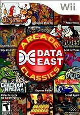 Data East Arcade Classics (Nintendo Wii, 2010) * DISC ONLY