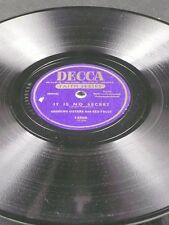 Decca 14566 Red Foley Andrews Sisters HE BOUGHT MY SOUL AT CALVARY 78 E-