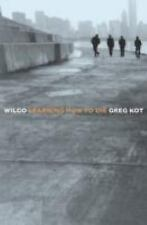 WILCO  Learning How To Die  large paperback book