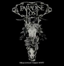 PARADISE LOST cd lgo DRACONIAN TIMES Official SHIRT XL new