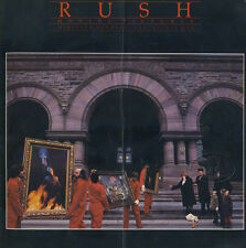RUSH 1981 Moving Pictures Tour Concert Program Programme Book