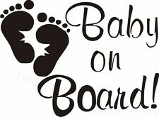 Baby on Board Aufkleber Car Window Bumper Sticker Vinil Decal 146