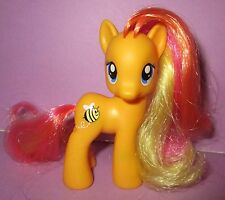 My Little Pony MLP FIM G4 Honey Buzz Honeybuzz Bee Pony Brushable Toy!