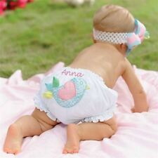 New Baby Girls Mud Pie Chick Diaper Cover Size 0-12 Months 3-6 6-9 9-12 Bloomers