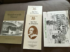 WORDSWORTH PAPERBACK BOOKLET AND RELATED LEAFLETS