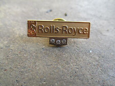 vintage 1970 RARE original Rolls-Royce 30yr employee only gold fill service pin