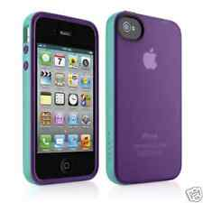 Belkin Grip Candy Sheer Apple iPhone 4/4s Case Purple/Teal Brand New