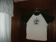 NEW ARRIVAL 1 Timberland t-shirt short sleeve white distressed tree sz large NEW