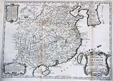 Antique map, L'Empire de la Chine