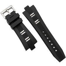Rubber Watch Strap Band Buckle Diagono Scuba Diver Watch 26mm x 9mm Replacement