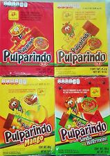 Pulparindo Mexican Candy Watermelon,Tamarindo,Mango,Extra Hot & Salted  1 box ea