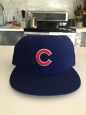 Vintage Chicago Cubs New Era Hat/Cap - 7 3/8 Fitted Wool Baseball 1990's