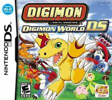 Nintendo Digimon World DS Game Card Working with DS, DS Lite, DSi, 3DS