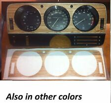 Instrument panel Sticker Opel Manta A