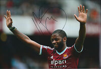 Alex SONG Signed 12x8 Photo AFTAL COA Autograph Cameroon West Ham Hammers