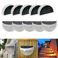 Lot10 Waterproof 6 LED Solar Power Light Fence Yard Outdoor Garden Wall Lamp